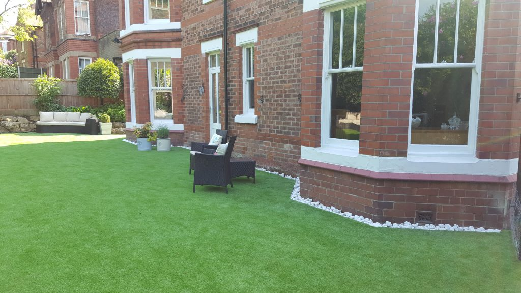 artifical grass helsby