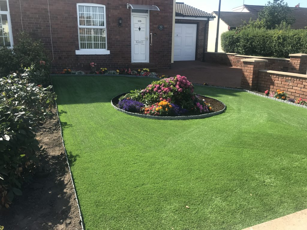 artificial turf newton